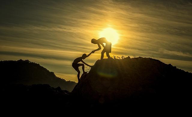 sportovci na horách