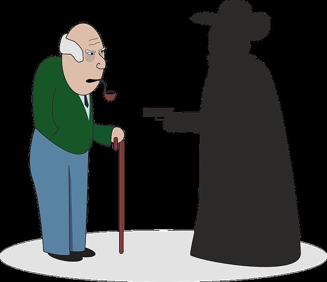 přepadení starce