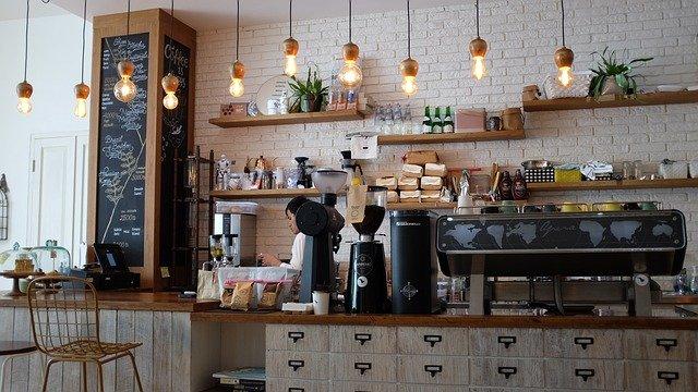 vybavení kavárny
